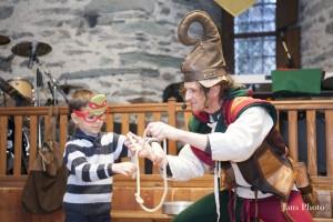 Carnevale Verres 2015, spettacolo medioevale nel castello di Verres