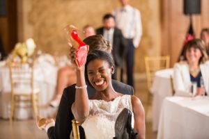 Gioco della scarpa al matrimonio